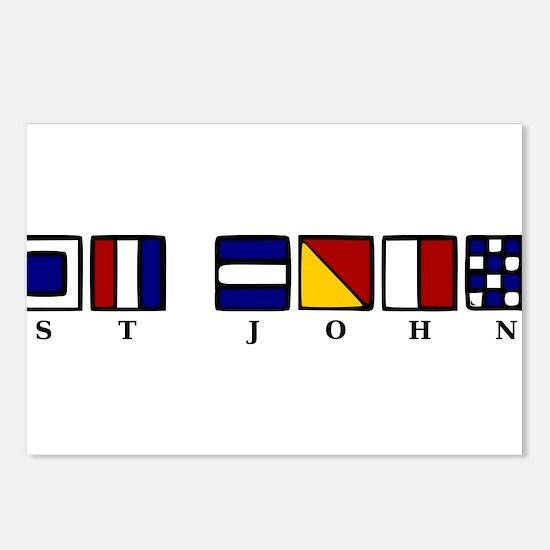 St. John Postcards (Package of 8)