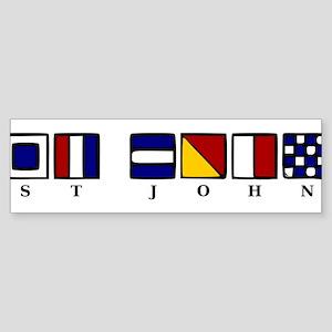 St. John Sticker (Bumper)