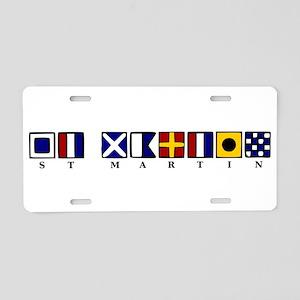 St. Martin Aluminum License Plate