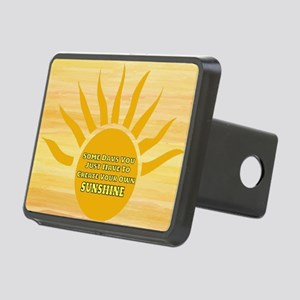 Create Your Own Sunshine Rectangular Hitch Cover