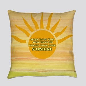 Create Your Own Sunshine Everyday Pillow