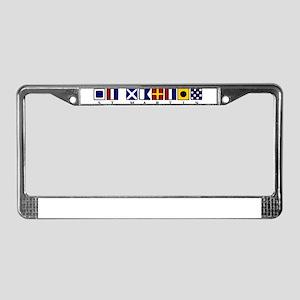 St. Martin License Plate Frame
