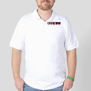 Nautical Tybee Island Golf Shirt