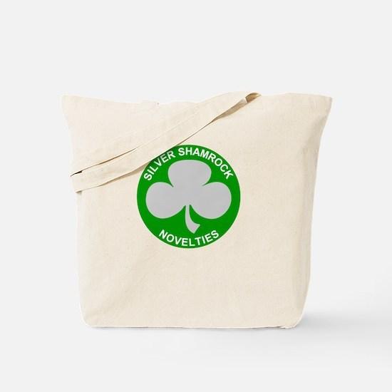 Silver Shamrock Novelties Tote Bag