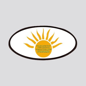 Create Your Own Sunshine Patch