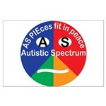 Autism symbol Large Poster