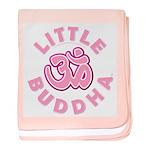 """""""Little Buddha"""" baby blanket"""