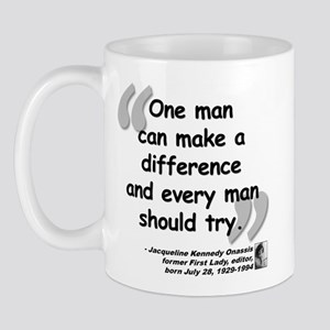 Jackie Difference Quote Mug