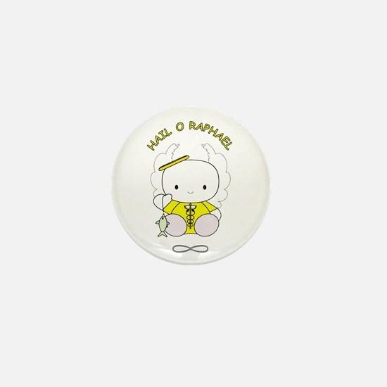 Unique Raphael Mini Button