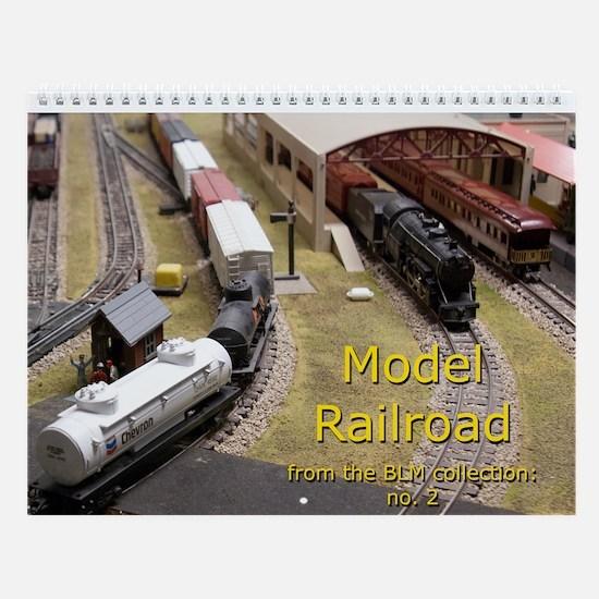 Model Railroad BLM Collection no.2 Wall Calendar