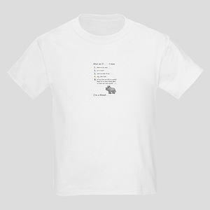 What am I? . . . Kids Light T-Shirt