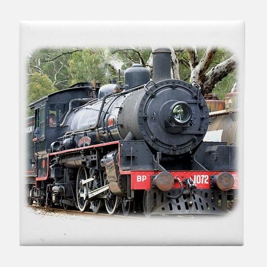 Zig Zag Railway Steam Locomotive 9J54D-01 Tile Coa