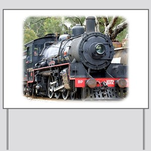 Zig Zag Railway Steam Locomotive 9J54D-01 Yard Sig