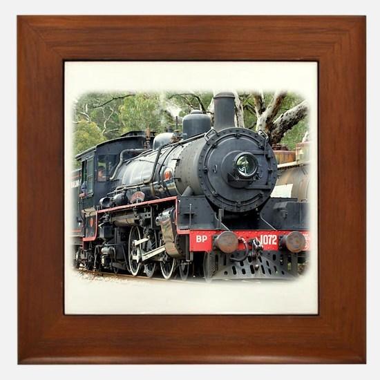 Zig Zag Railway Steam Locomotive 9J54D-01 Framed T