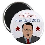 Alan Grayson for President political magnet