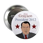 Alan Grayson for President campaign button