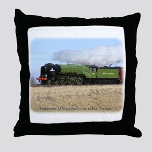 A1 Steam Loco Tornado 9Y487D-105 Throw Pillow