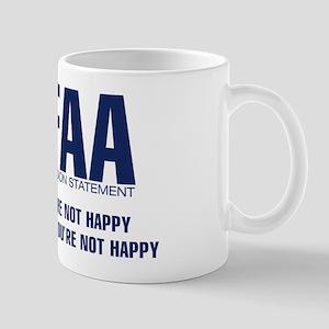 FAA - Mission Statement Mug