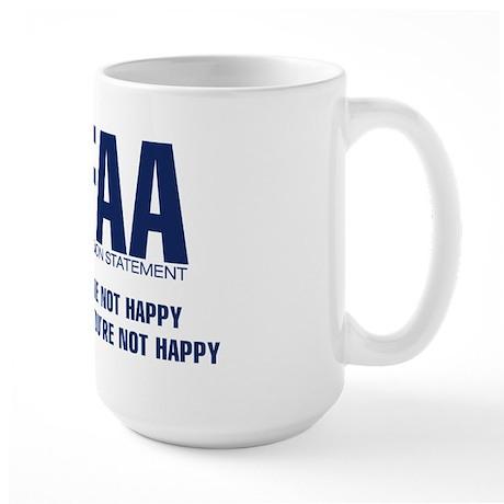 FAA - Mission Statement Large Mug