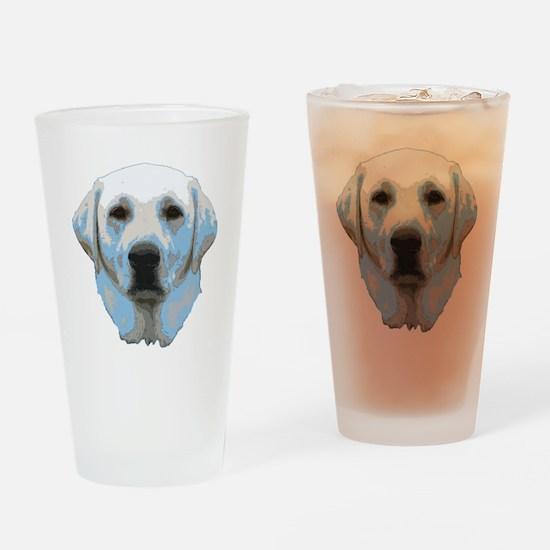 Lab Portrait Drinking Glass