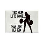 One kid Mom Rectangle Magnet