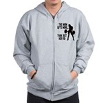 One kid Mom Zip Hoodie