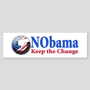 Anti Obama 2012 Sticker (Bumper)