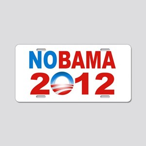 Anti Obama 2012 Aluminum License Plate