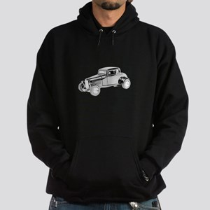 Ford Coupe 1932 -colored Hoodie (dark)