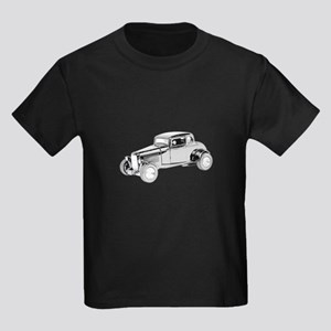 Ford Coupe 1932 -colored Kids Dark T-Shirt