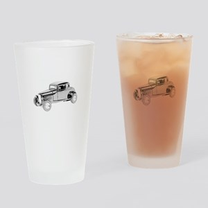 Ford Coupe 1932 -colored Drinking Glass