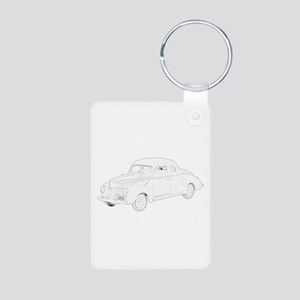 Ford Deluxe 1940 Aluminum Photo Keychain