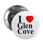 "I Love Glen Cove 2.25"" Button"