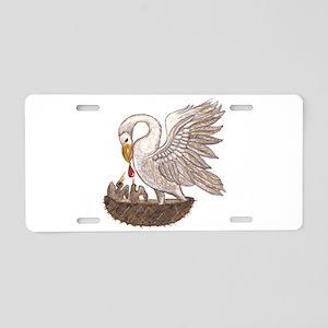 Pelican Aluminum License Plate