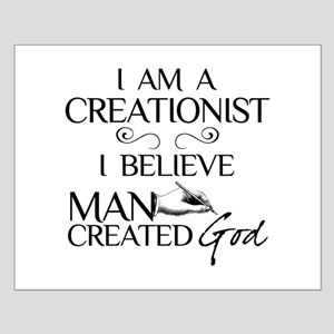 I Am A Creationist Small Poster