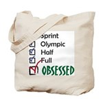 Obsessed Triathlon Tote Bag