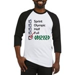 Obsessed Triathlon Baseball Jersey