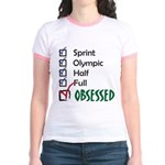 Obsessed Triathlon Jr. Ringer T-Shirt