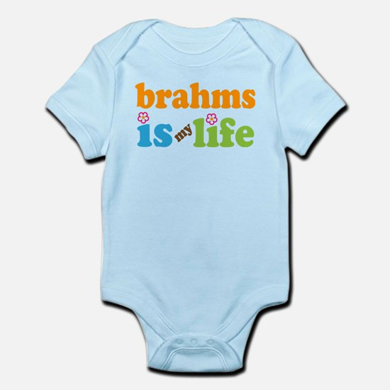 Brahms Is My Life Gift Infant Bodysuit