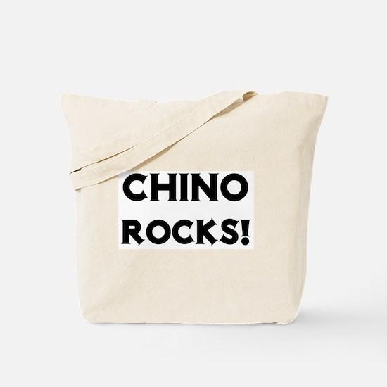 Chino Rocks! Tote Bag