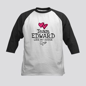 Sis Lovez Edward Kids Baseball Jersey
