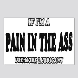 IF IM A PAIN IN THE ASS ETC_BLK/WHITE Postcards (P