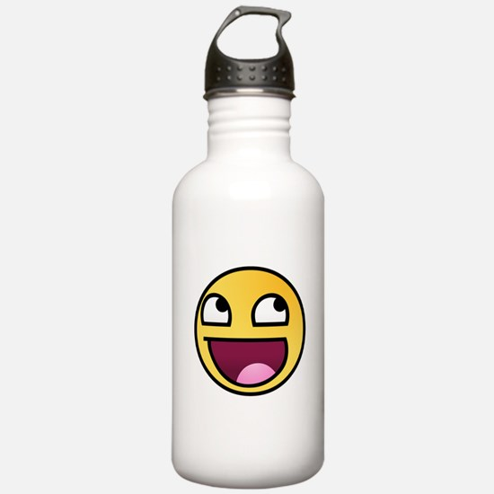 Awesome Smiley Water Bottle