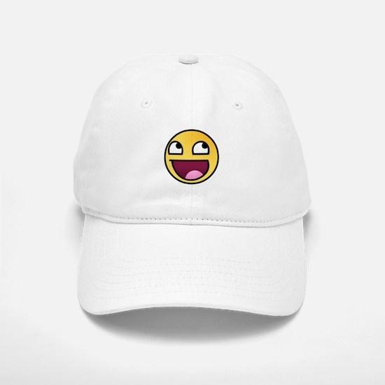 Awesome Smiley Baseball Baseball Cap