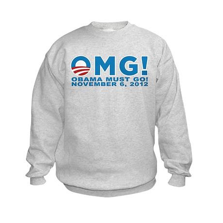 Anti Obama 2012 Kids Sweatshirt