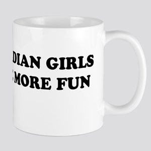 Canadian Girls Have More Fun Mug