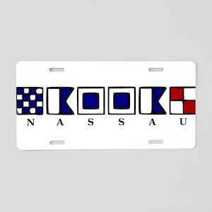 Nassau Aluminum License Plate