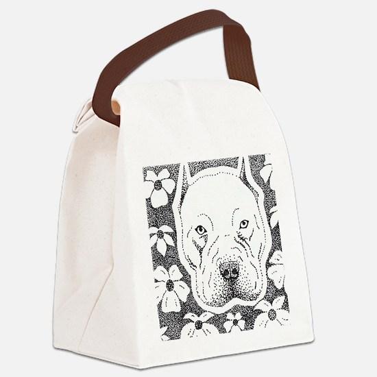 Cute Bully Canvas Lunch Bag
