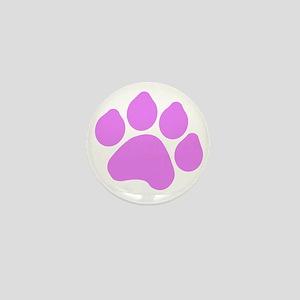 Paw Print Mini Button