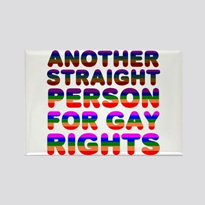 Pro Gay Rights Rectangle Magnet